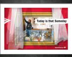 Bank of America- WIndow displays. Glenn Clegg -Art Director