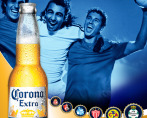 Corona Beer- Soccer, Show your love for the game.