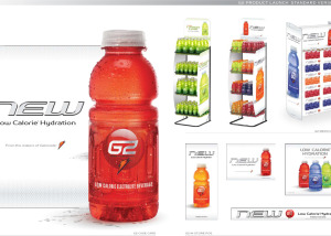 Gatorade-G2-merchandising, Brand Identity, Glenn Clegg - Designer/Creative