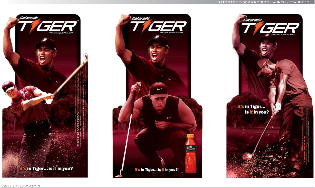 Gatorade - Tiger Branded Product