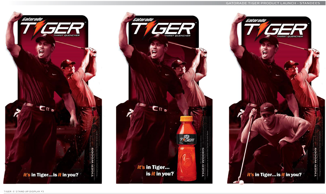 Gatorade Tiger product roll out.