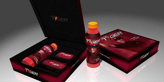Gatorade Tiger Brand- product rollout promo. Press kit. Brand Identity, Glenn Clegg