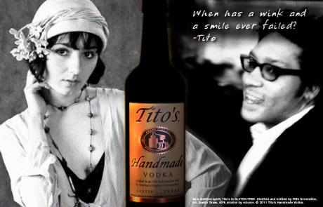 Tito's Vodka - Concept in store case card. Brand Identity, Glenn Clegg