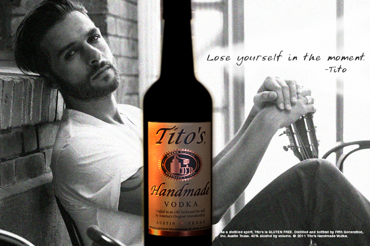 Titos Vodka - Concept in store case card
