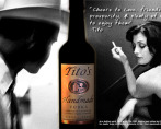 Titos Vodka - Concept in store case card