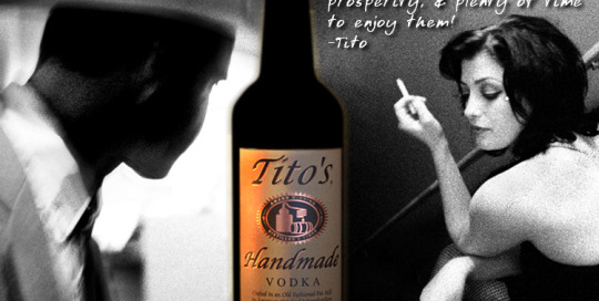 Tito's Vodka - Concept in store case card