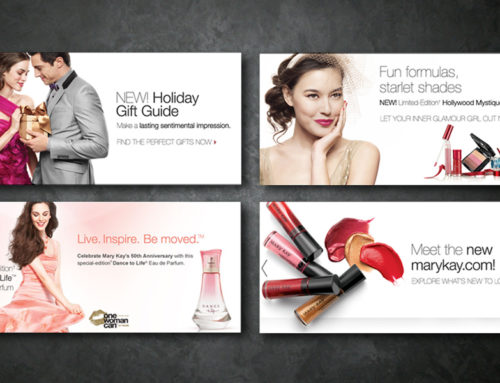 Mary Kay – Web ad modules