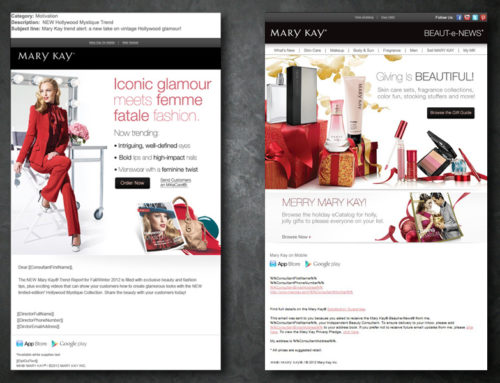 Mary Kay -email marketing