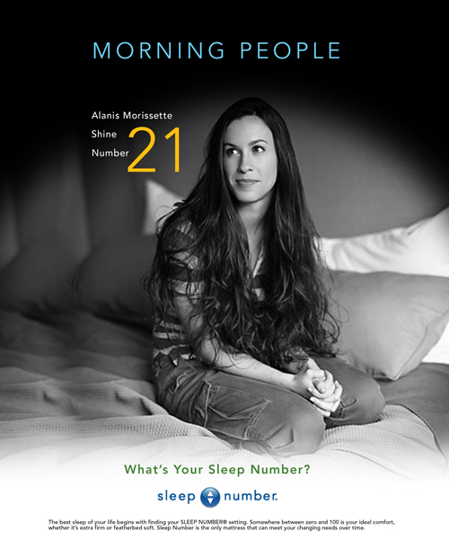 Sleep Number - Comp-Alanis-Morissette-